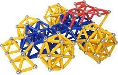 Магнитный конструктор Magneticus (157 эл, синий) фотография 4