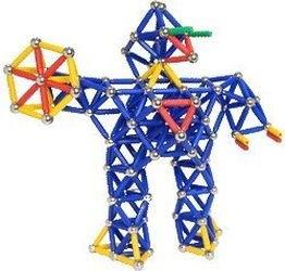Магнитный конструктор Magneticus (157 эл, синий) фотография 5