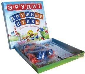 Настольная игра Эрудит для маленьких Дружные буквы фотография 2