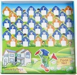 Настольная игра Эрудит для маленьких Дружные буквы фотография 5