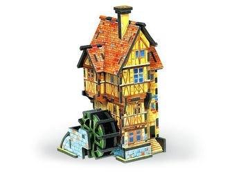 Фото Объемный 3D пазл Водяная Мельница-Лето (128-01)