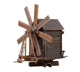 Фото Сборная модель Ветряная Мельница остров Кижи (181)