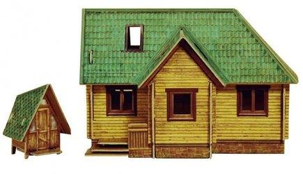 Сборная модель Дачный домик (281) фотография 2