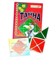 Фото Развивающая игра Квадрат Воскобовича двухцветный со сказкой