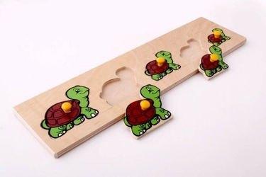 Фото Рамка-вкладыш Черепаха деревянная (1019)