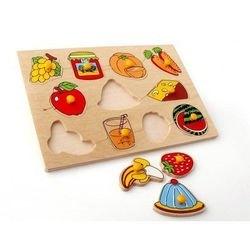 Фото Рамка-вкладыш деревянная Фрукты, овощи (1415)