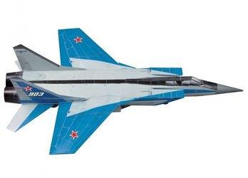 """Фото Сборная модель из картона Самолет """"МИГ 31"""" (184-01)"""