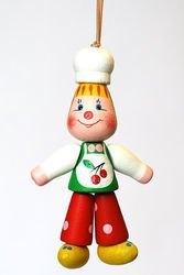 Фото Деревянная игрушка Поваренок (С27)