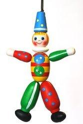 Фото Деревянная игрушка Клоун (С44)