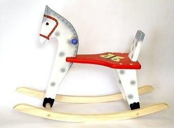 Фото Конь-качалка деревянная для детей (С91)