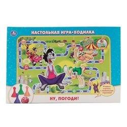 Фото Настольная игра-ходилка Ну, погоди!