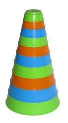 Фото Занимательная пирамидка стаканчики Полесье (35042)