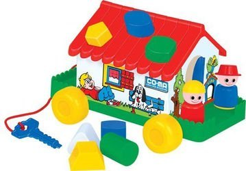 Фото Развивающая игрушка сортер Игровой дом в сетке (6202)