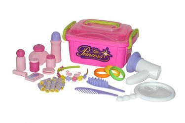 Фото Набор детская парикмахерская Маленькая принцесса в контейнере (53497)