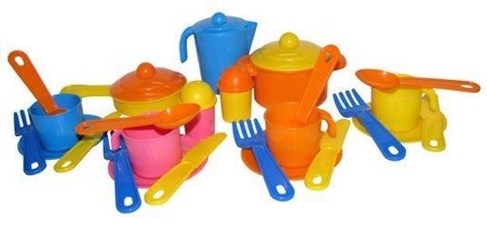 Фото Набор игрушечной посуды Настенька на 4 персоны (3926)