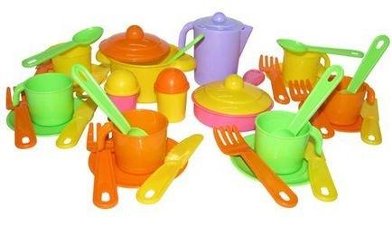 Фото Набор игрушечной посуды Настенька на 6 персон (3933)