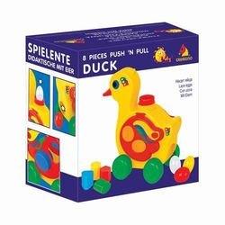 Развивающая игрушка сортер Уточка - несушка (в коробке) фотография 2