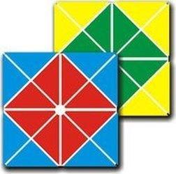 Фото Квадрат Воскобовича четырехцветный