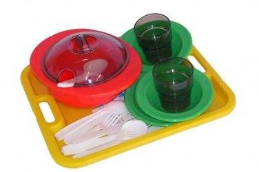 Фото Игрушечный набор кукольной посуды Столовый набор (С-283)