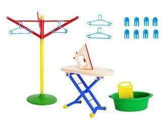 Фото Игровой набор для стирки и глажки Золушка №3 (У759)