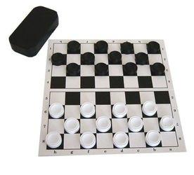 Фото Настольная игра Шашки с полем (У703)
