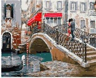 Фото Картины по номерам Мостик влюбленных 40х50 (GX8363)