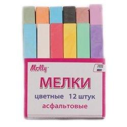 Фото Мелки Цветные для асфальта 12 шт (FSK012)