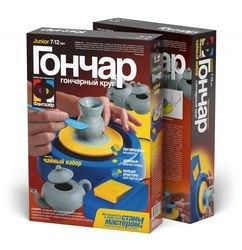 Фото Набор для творчества Гончар Чайный набор сахарница и чайник(217005)