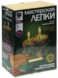 Фото Набор для творчестваМастерская лепки Глиняная свеча Сказочный пенек (217022)