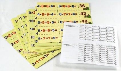 Игра на запоминание таблицы умножения Семечки и орешки фотография 3