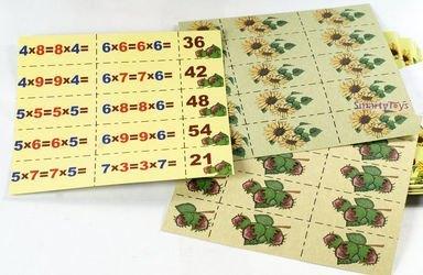 Игра на запоминание таблицы умножения Семечки и орешки фотография 4