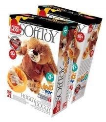 Фото Набор для создания мягкой игрушки Песик Хогги и мисочка с косточкой (457054)