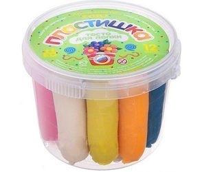 Фото Тесто для лепки Пластишка Набор №3 12цветов (Тдл-003)