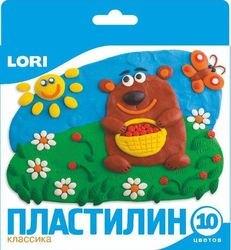 Фото Пластилин Классика 10 цветов, 20 гр (Пл-002)