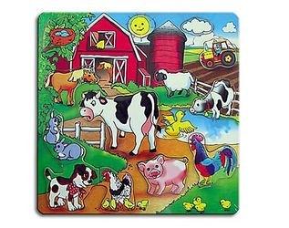 Фото Деревянная рамка-вкладыш Большая ферма (П-9689)