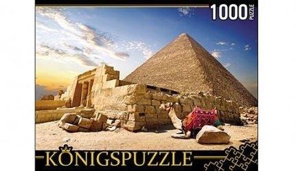 Фото ПазлЕгипет пирамиды и верблюды1000 элементов (ГИК1000-6529)