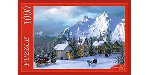 Фото Пазл Снежные альпы1000 элементов (МГ1000-7347)