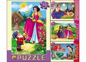 Фото ПазлСказки для принцесс12 элементов (П12-1264)