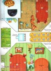 Домашний театр Маша и медведь; Три медведя; Коза-дереза; Кот, петух и лиса фотография 3