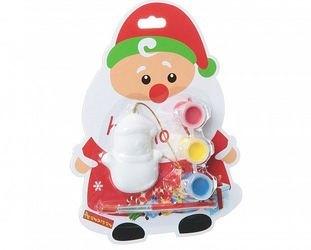 Фото Набор для творчества Елочные украшения для раскрашивания Дед Мороз (ВВ1402)