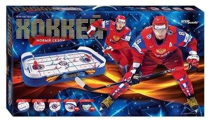 Фото Настольный хоккей Новый сезон с заездом за ворота (76195)