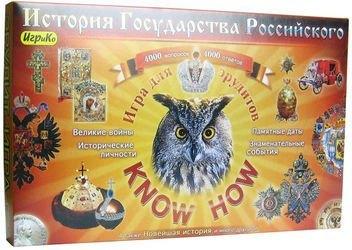 Настольная игра викторина История государства российского Know How фотография 1
