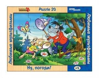 Фото Деревянный пазлЛюбимые мультфильмы Ну,Погоди! (89709)