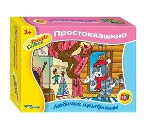 Фото КубикиПростоквашино 12элементов(87345/87308)