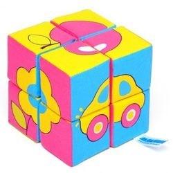 Фото Мягкие кубики Собери картинку Предметы 8 шт (335)