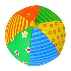 Мягкий мячик Мякиши с погремушкой Радуга (006) фотография 3