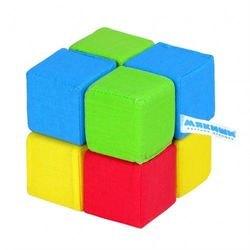 """Фото Мягкие кубики """"4 цвета"""" 8 кубиков (332)"""