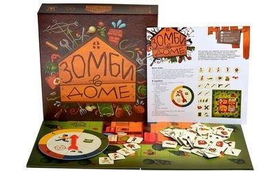 Фото Настольная игра Зомби в доме (MAG03628)
