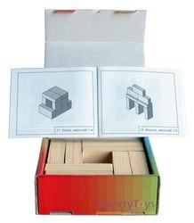 Игры Никитина. Кирпичики в картонной коробке (дерево, Световид) фотография 2