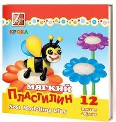 "Фото Пластилин для детей ""Кроха"" 12 цветов (23С 1484-08)"